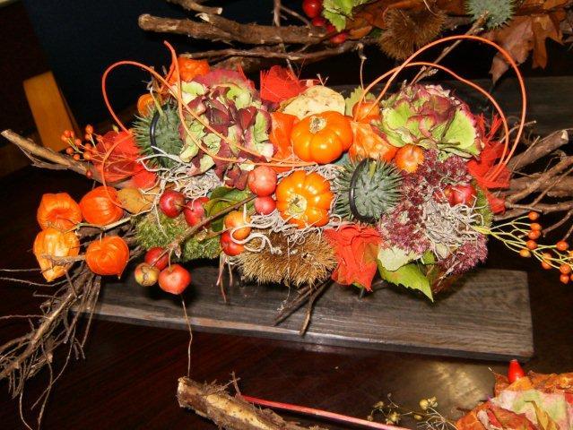 Uitzonderlijk Herfststuk maken workshop | Drijber.net @HN89